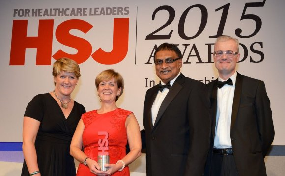 Cheshire West NHS boss wins