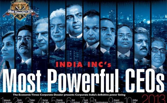 Powerful CEOs 2013 - Global