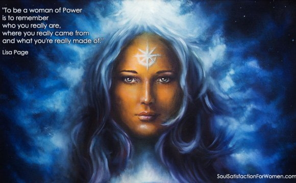 WOMAN OF POWER: How to BE One