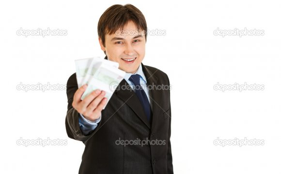 Smiling modern businessman
