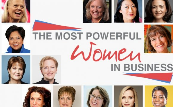 The Most Powerful Women In