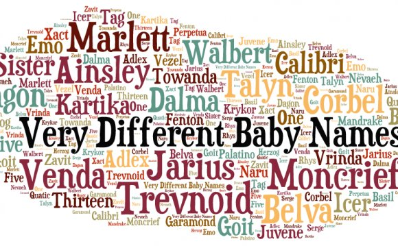 Very Different Baby Names