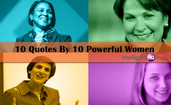 Quotes about Women In business