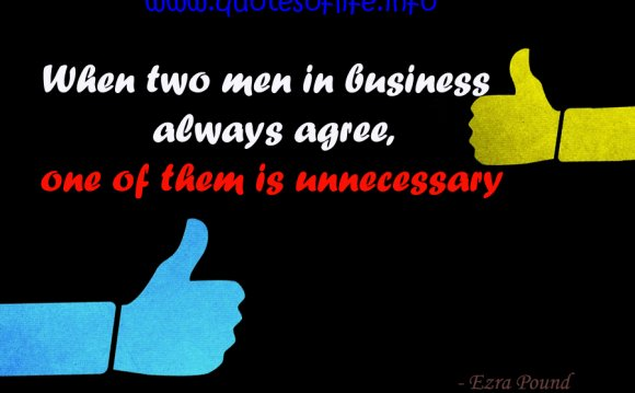 Quotes on business