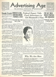Ad Age's first issue in 1930