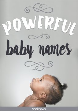 Baby names with strong meanings
