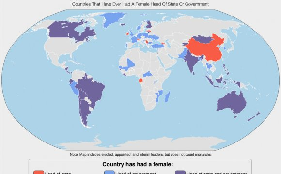 Female leaders around the world