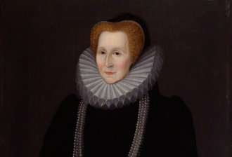 Elizabeth Talbot, Countess of Shrewsbury, by unknown artist. © National Portrait Gallery, London, creative commons license
