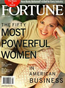 Fortune's 1998 Carly Fiorina cover