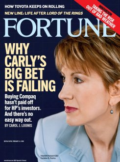 Fortune's 2005 Carly Fiorina cover