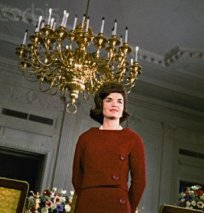 Jacqueline Kennedy gave a television tour of her restored White House