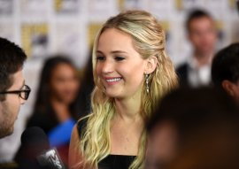 Jennifer Lawrence pointed out that women are expected to adjust their tone in negotiations. (Getty)