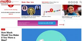 Time Starts an 'Inspirational and Motivational' Site Called Motto for Young Women