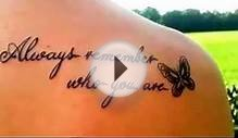 Best tattoo quotes for women 2014