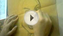Female Comic Face Speed Drawing