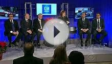 GM taps Mary Barra as first female CEO, replacing Akerson