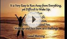 inspirational good morning quotes for her or him and friends