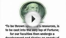 Secret of Success Business Quotes by Ben Franklin video