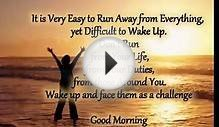 Sweet Good Morning Inspirational Quotes for her, him and