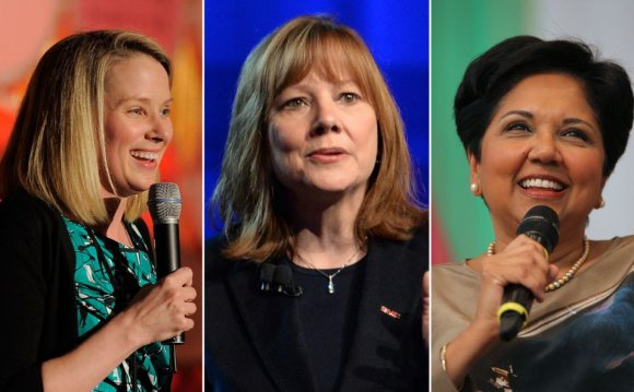 Woman CEOs in Fortune 500 companies