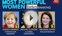 Four Indians in Forbes most powerful women list